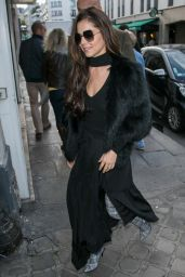 Cheryl Out and about in Paris