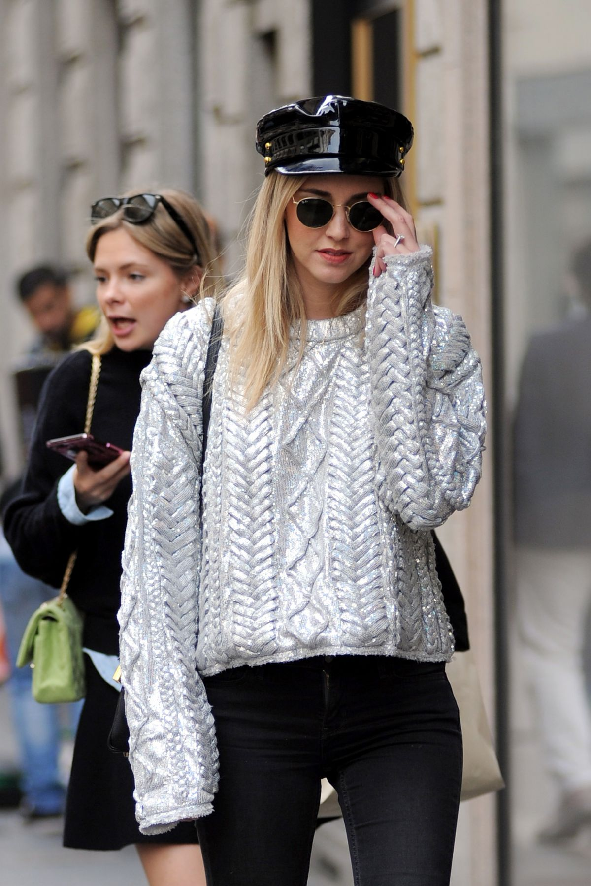 Chiara Ferragni Out for shopping in Milan, Italy
