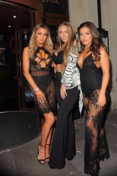 Chloe Crowhurst & Tyne Lexy Clarson Attending Sixty6 - Issue 4 launch party in London