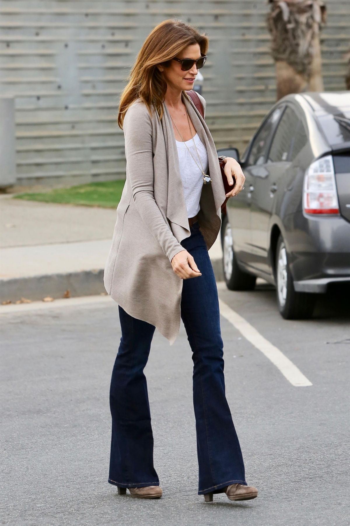 Cindy Crawford Out in Santa Monica