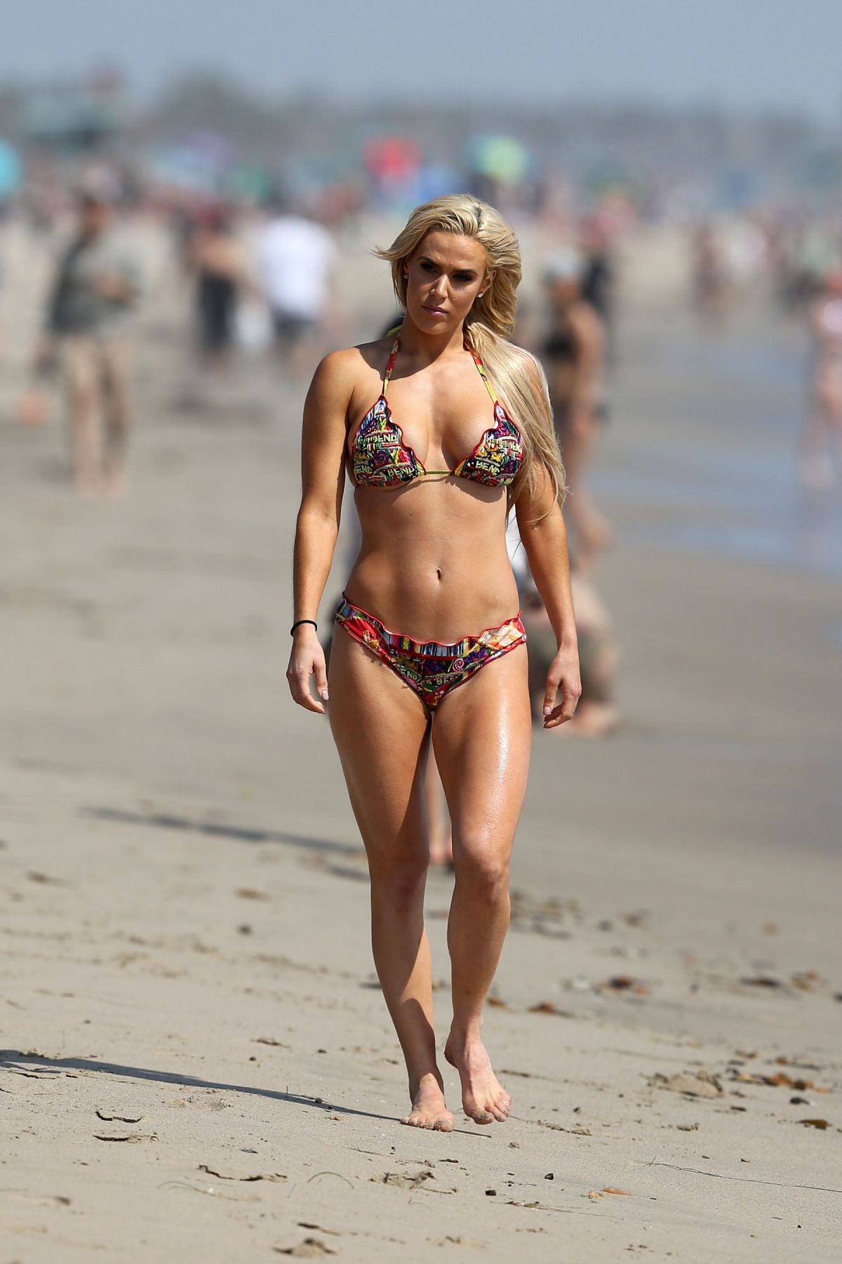 CJ Perry (Lana) At the beach in Los Angeles