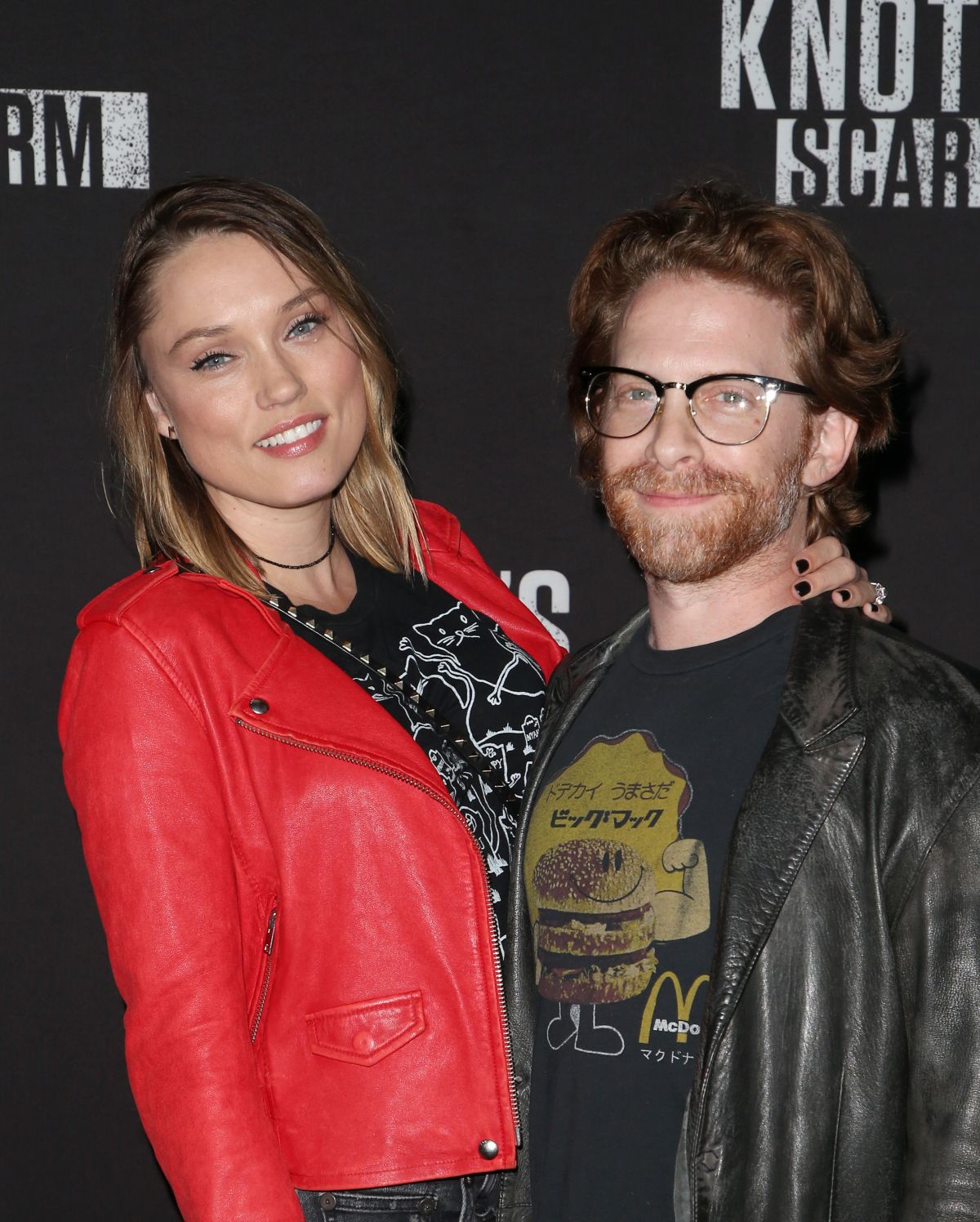 Clare grant knotts scary farm celebrity night in buena park - 2019 year