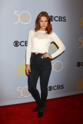 Courtney Hope At CBS