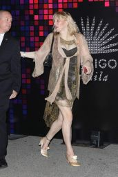 Courtney Love Attend the Casamigos Halloween Party in Los Angeles