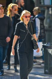 Dakota Fanning Out on a stroll in NYC
