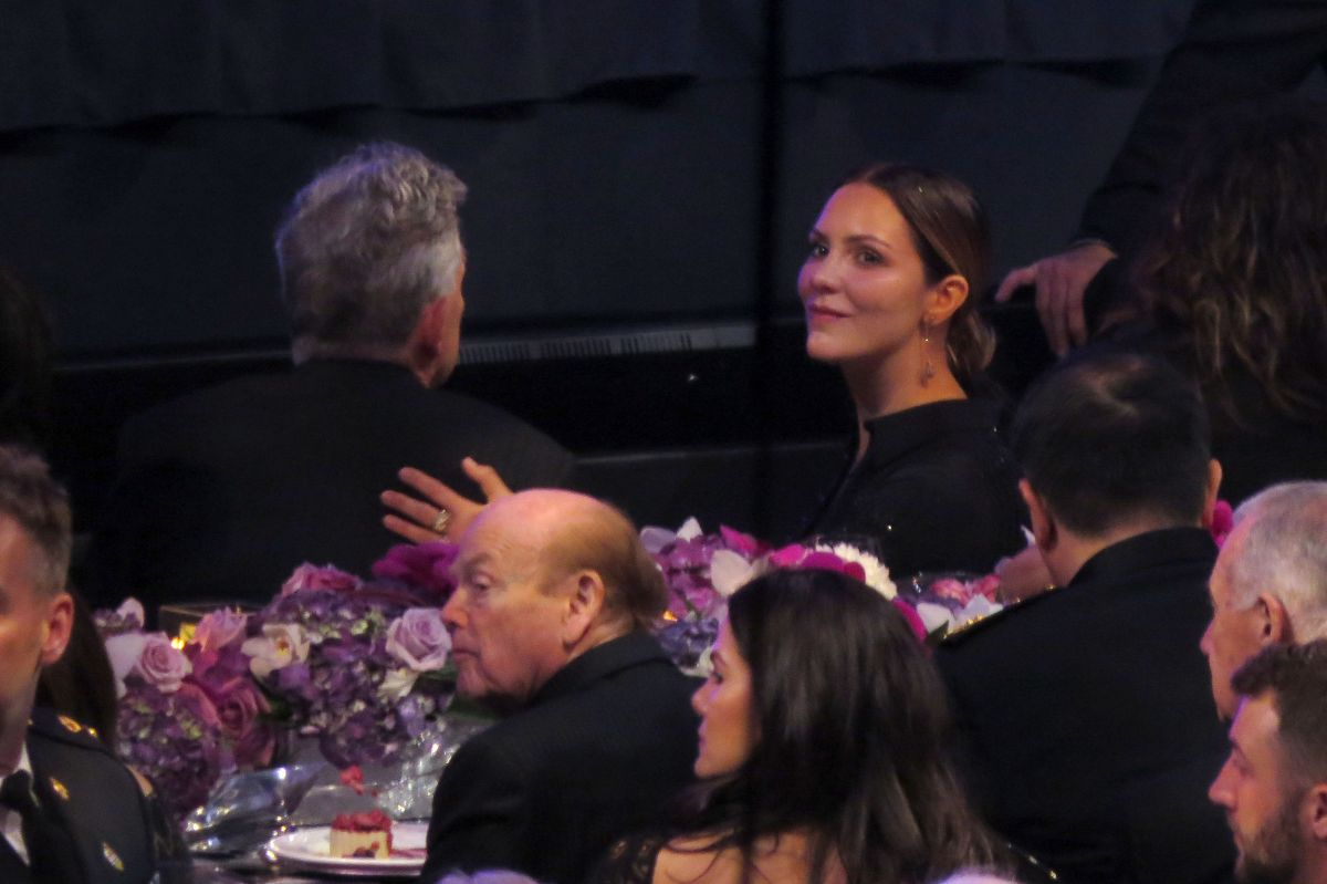 David Foster and Katharine McPhee appear intimate during Gala in Vancouver, Canada