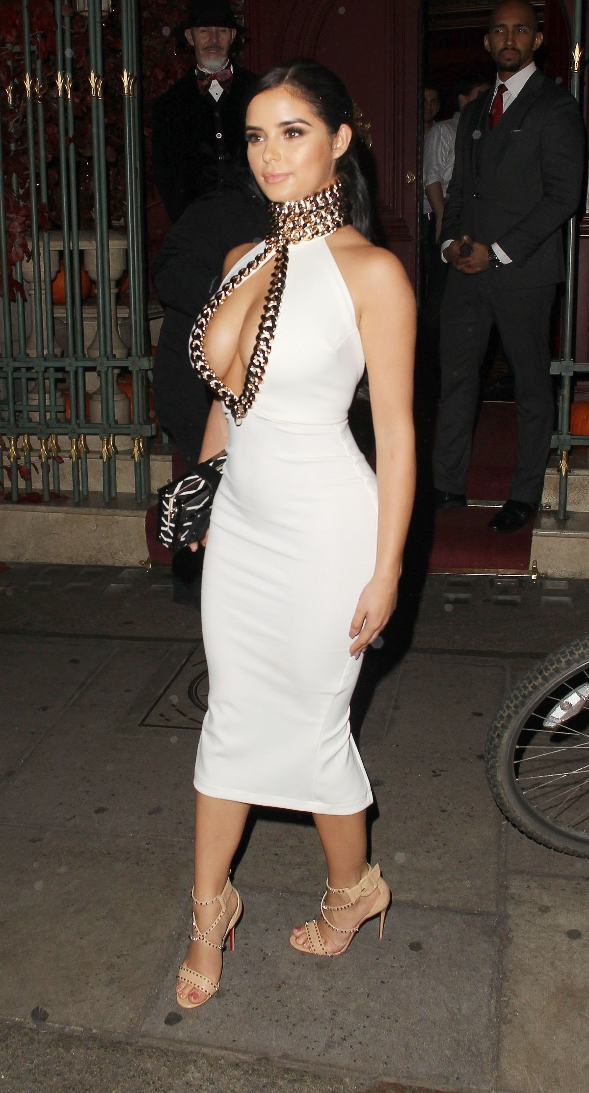 Demi Rose At Night out in Mayfair, London