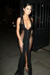 Demi Rose - Leaves Beauty Awards 2016 in London | Indian