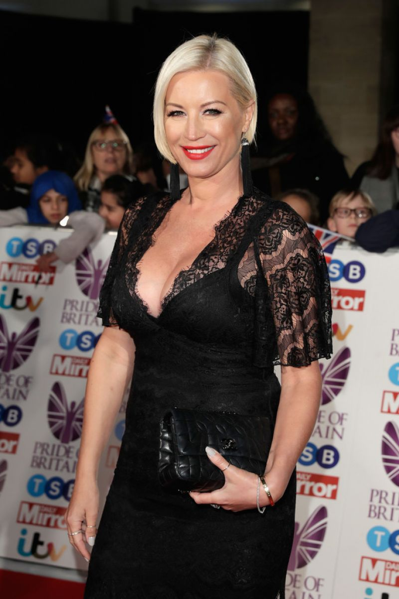 Denise van Outen At The Pride of Britain Awards 2017 in London