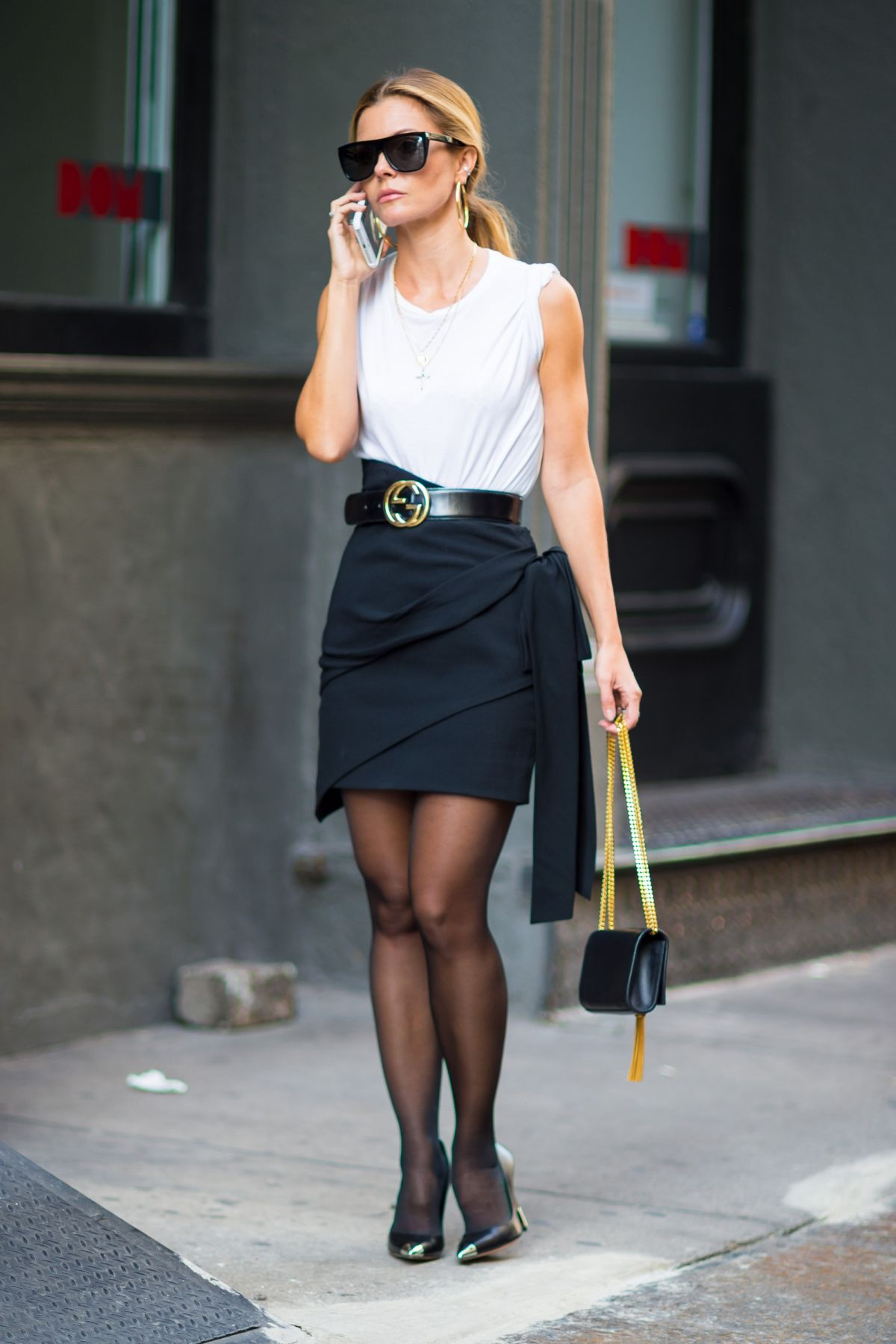 Elizabeth Sulcer Out and about in New York