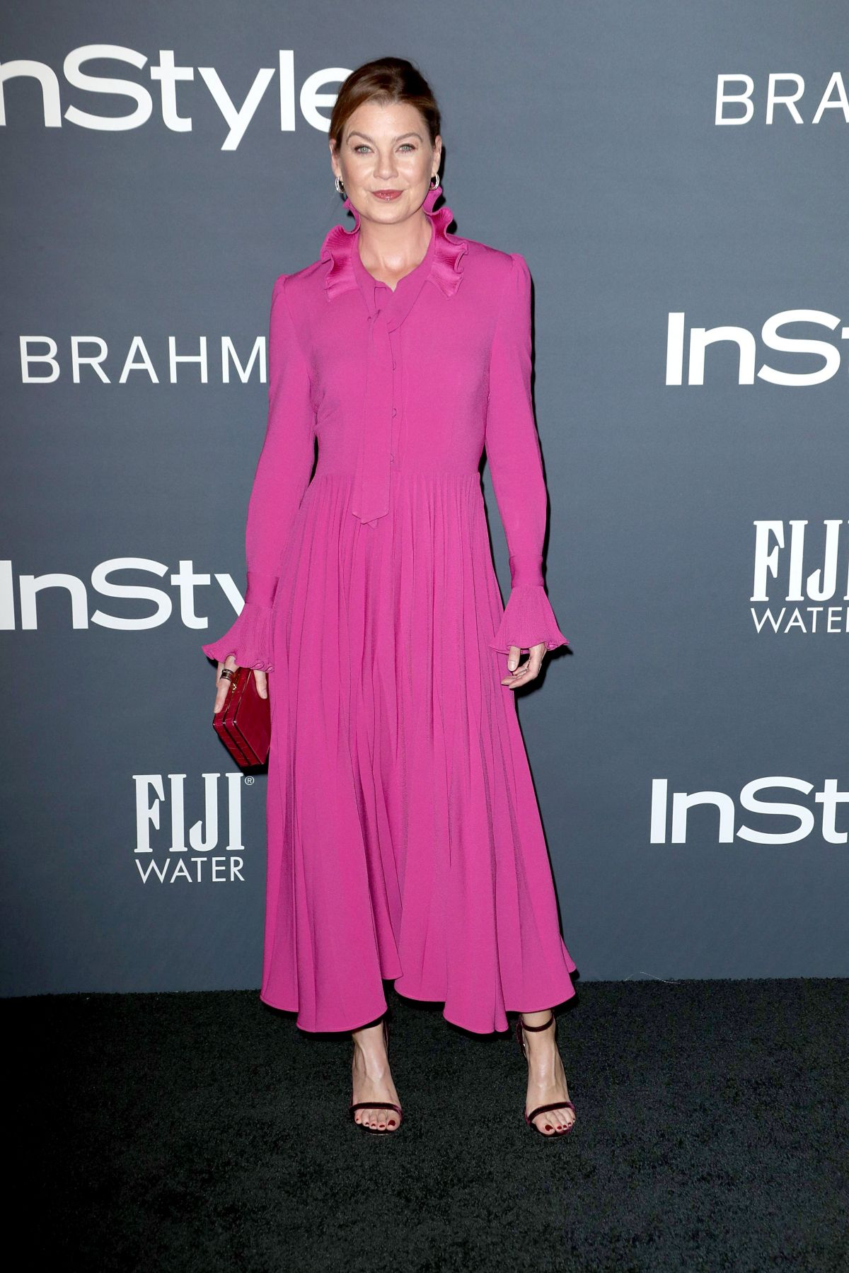 Ellen Pompeo At InStyle Awards in Los Angeles