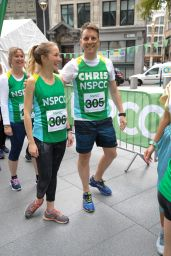 Emily Bowker Takes on the Gherkin Challenge for the NSPCC at The Gherkin in London