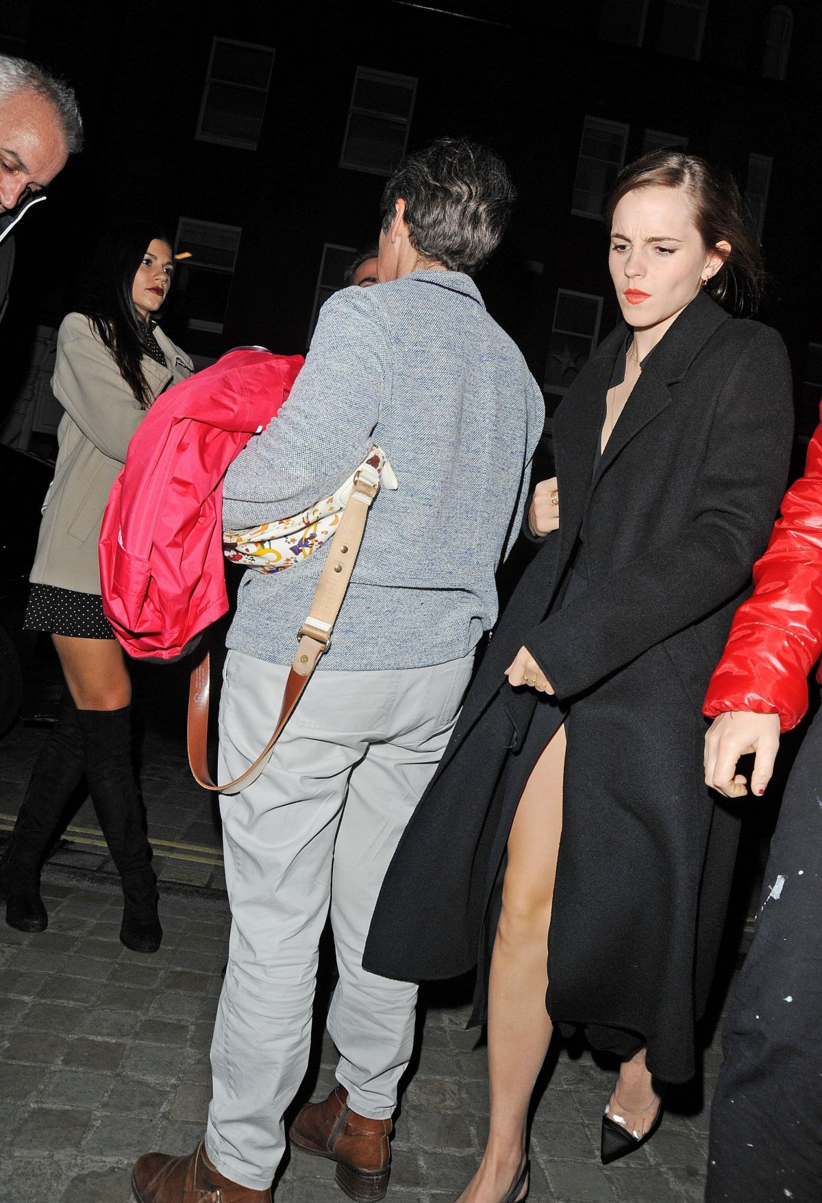 Emma Watson Arriving at Chiltern Firehouse in London