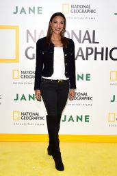 Eva LaRue At Los Angeles premiere of National Geographic Documentary Film