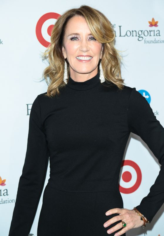 Felicity Huffman At 5th Annual Eva Longoria Foundation Dinner at Four Seasons Hotel at Beverly Hills in Los Angeles