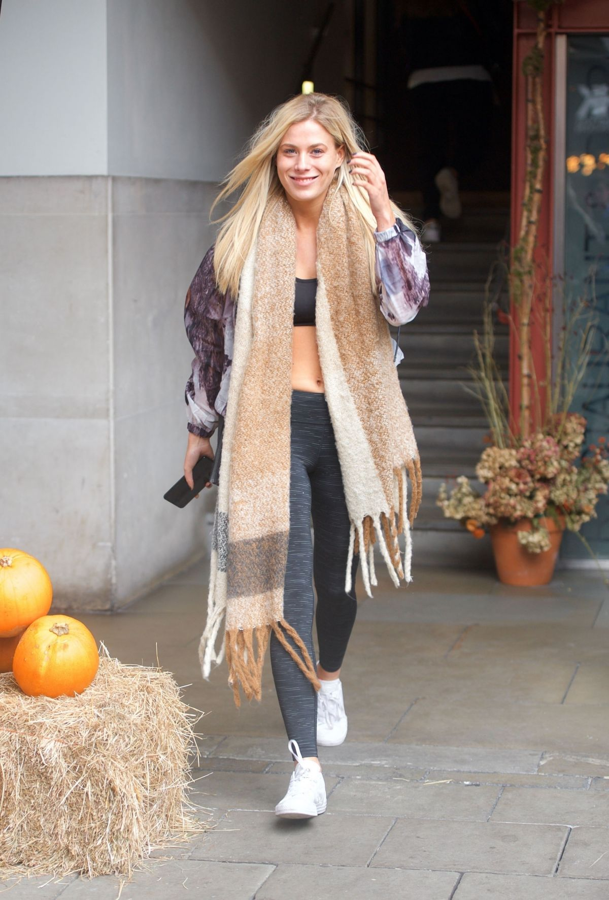 Frankie Gaff Out and about in London