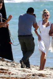 Hailey Baldwin Gets in front of the lens in Long Beach