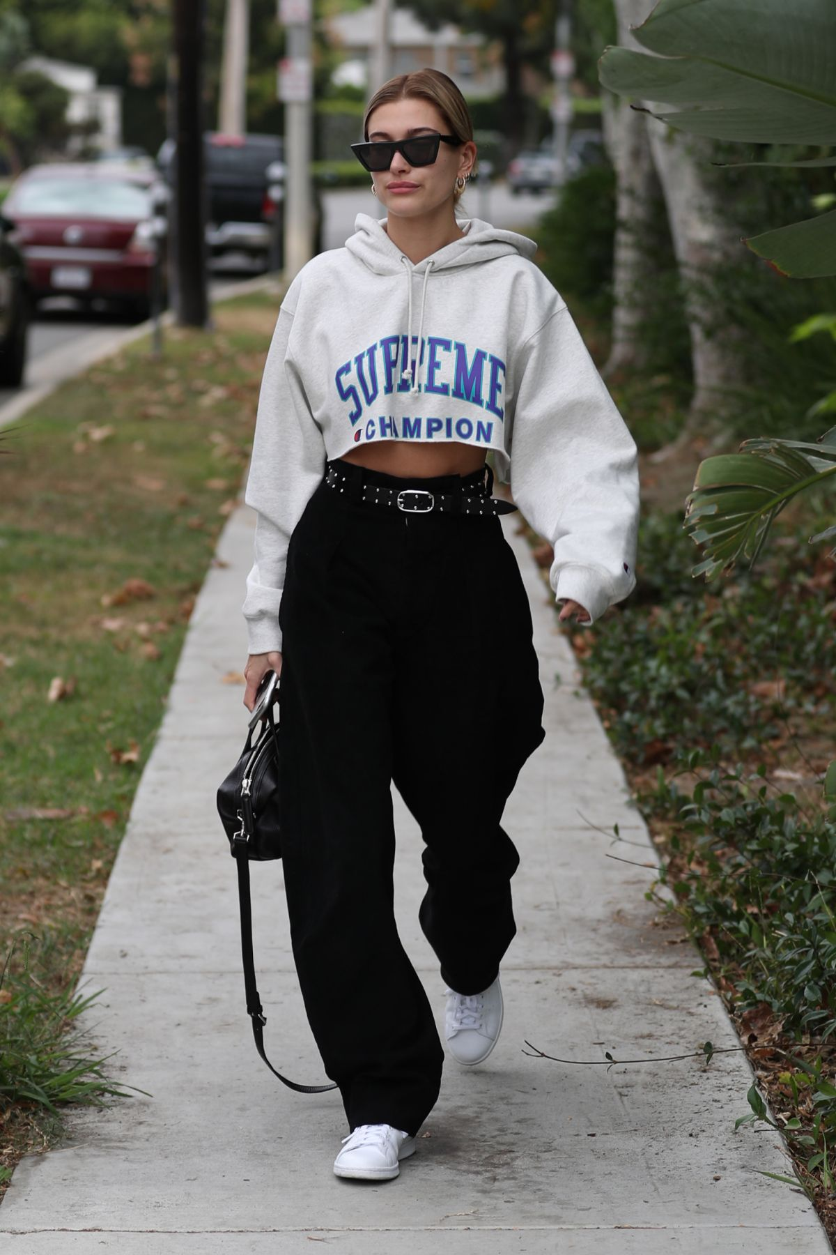 Hailey Baldwin Out in West Hollywood
