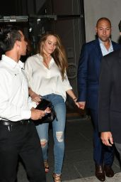 Hannah Davis Out in Miami