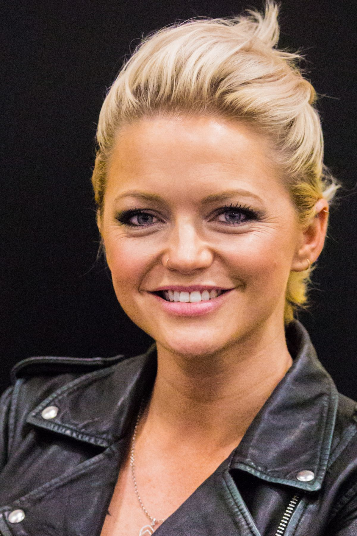 Hannah Spearritt At The German Comic Con In Berlin Germany