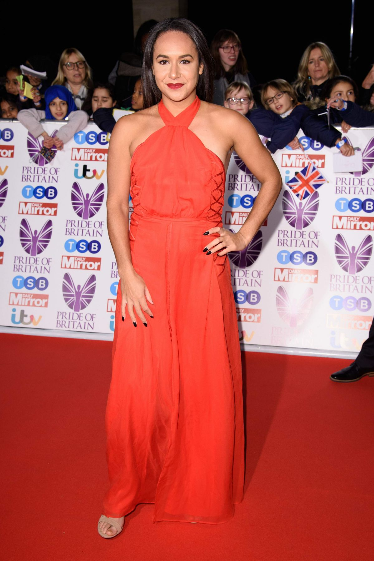 Heather Watson At Pride of Britain Awards, Grosvenor House, London