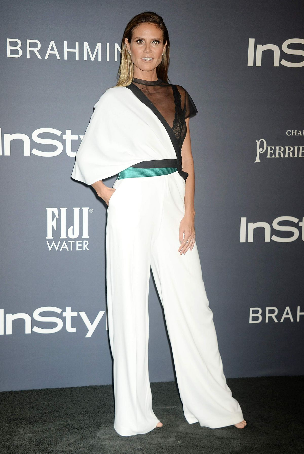 Heidi Klum Attend 3rd Annual InStyle Awards at The Getty Center in Los Angeles