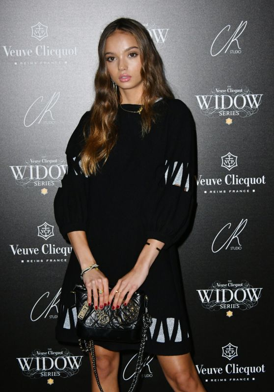 Inka Williams At Veuve Clicquot Widow Series VIP Launch Party in London