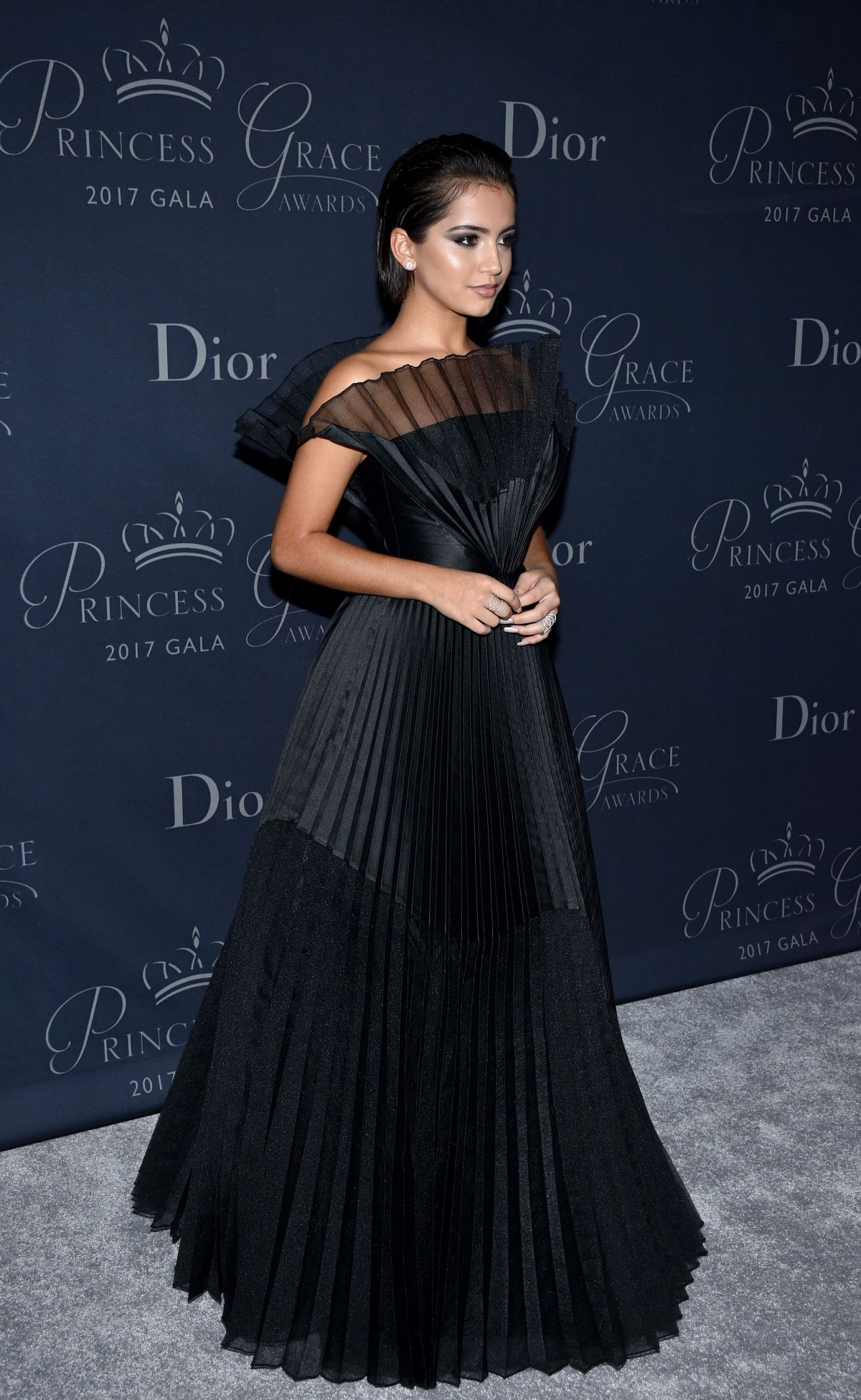 Isabela Moner At Princess Grace Awards Gala in Los Angeles