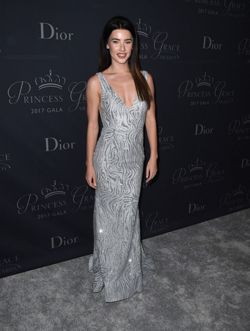 Jacqueline MacInnes Wood At 2017 Princess Grace Awards Gala in Beverly Hills
