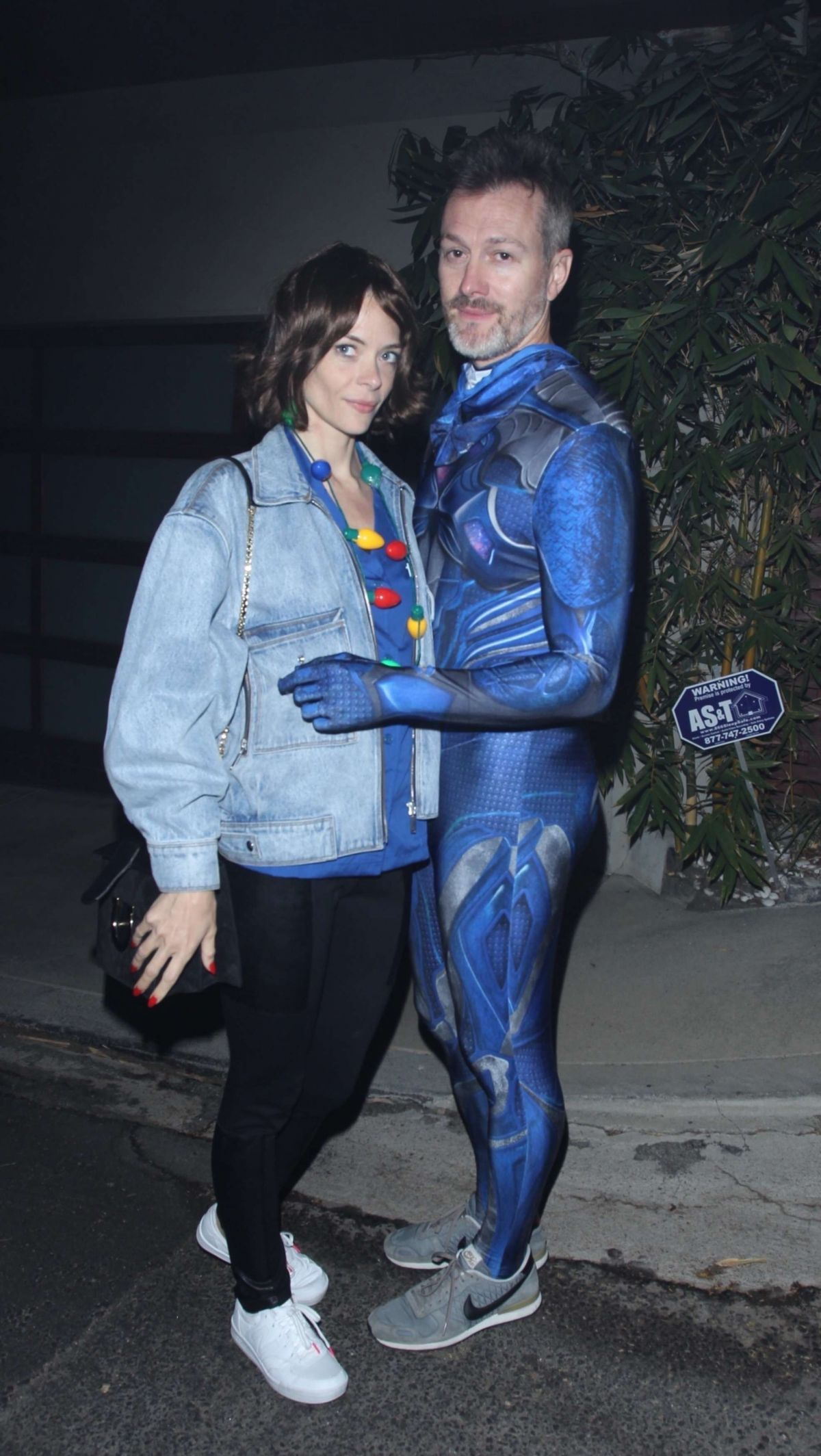 Jaime King At Just Jared Halloween Party in LA