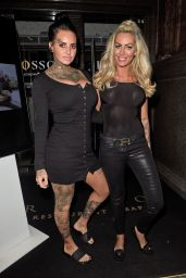 Jemma Lucy & Charlie Doherty Seen leaving the Rosso restaurant in Manchester