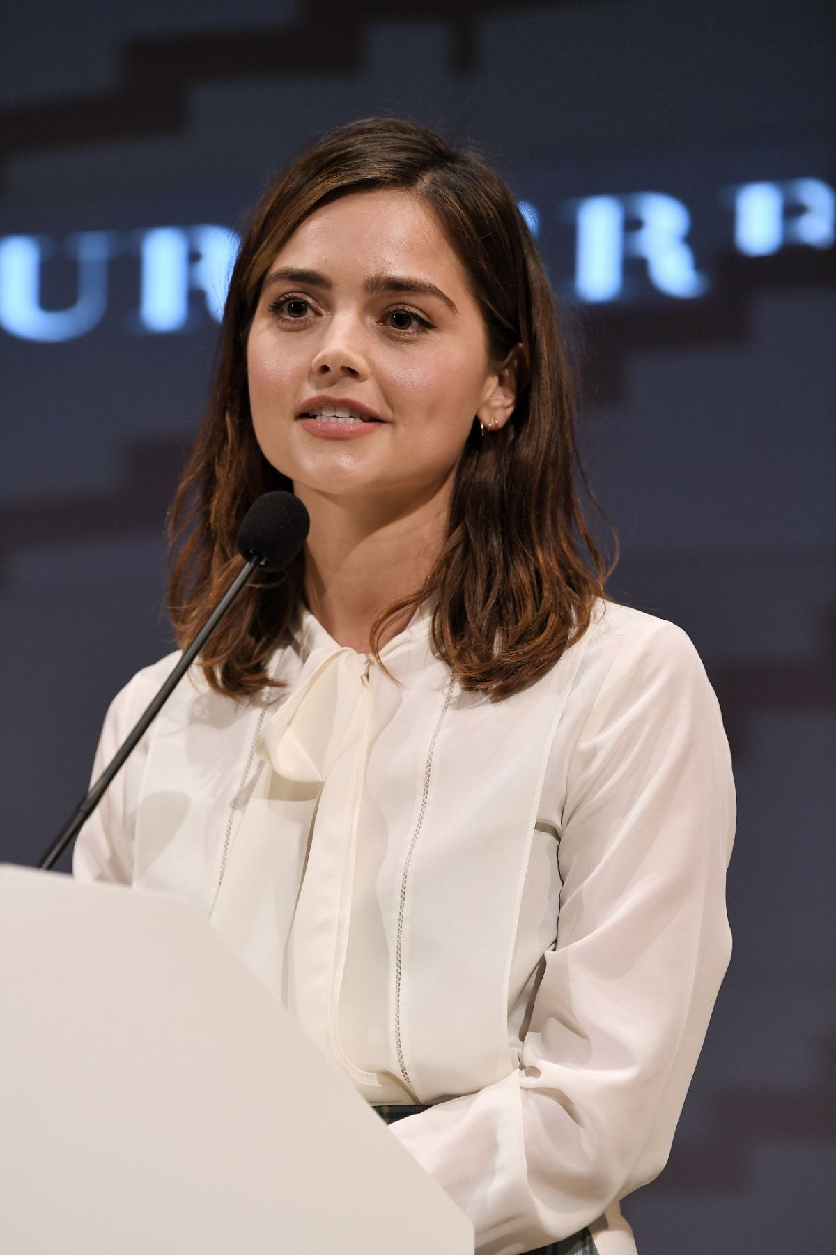 Jenna Louise Coleman At BAFTA Breakthrough Brits Reception in London