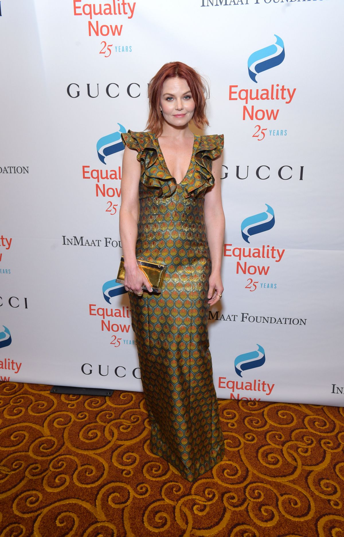 Jennifer Morrison At 25th Equality Now Anniversary Make Equality Real Gala in NY