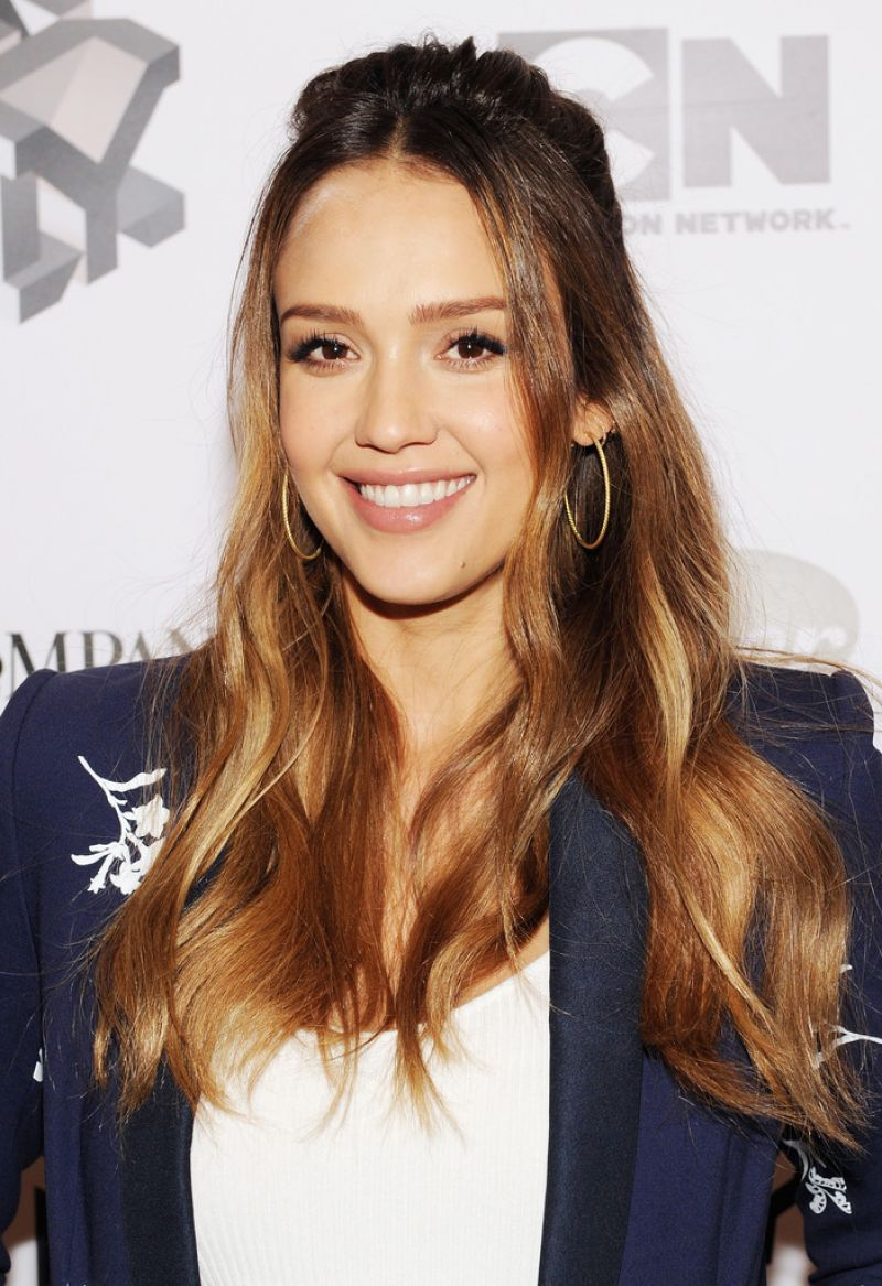 Jessica Alba At Fast Company Innovation Festival - Passion Play in NYC