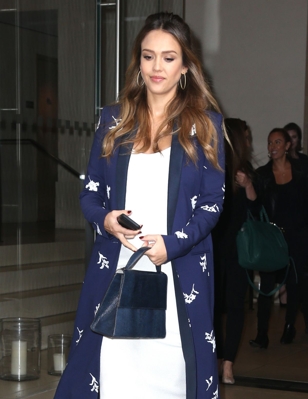 Jessica Alba Is seen in NYC