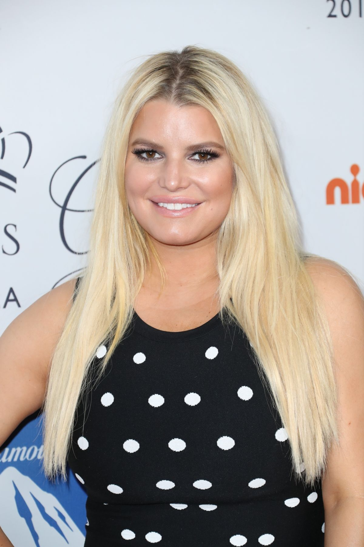 Jessica Simpson At 2017 Princess Grace Awards Gala Kickoff Event held at Paramount Studios in Hollywood