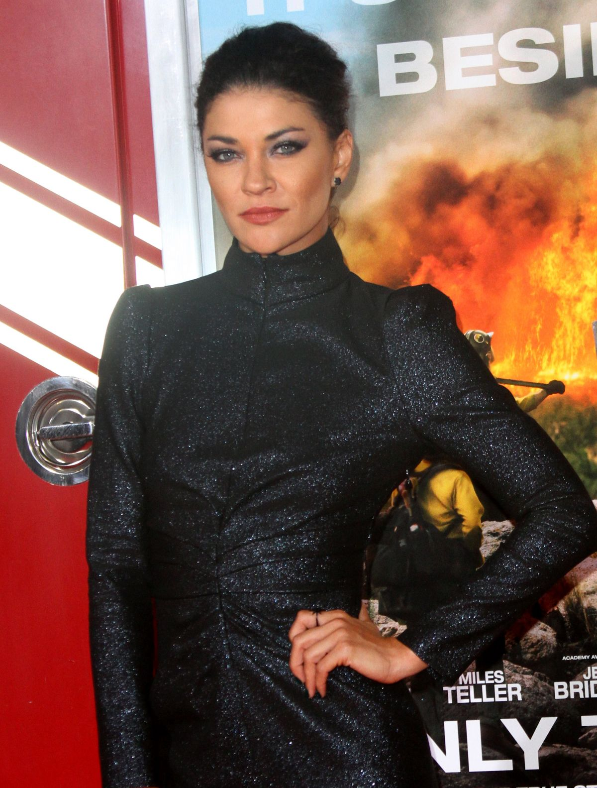 a180d896fb3d Jessica Szohr At  Only The Brave  film premiere