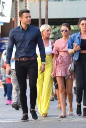 Jessica Wright and Natalya Wright Head to lunch with their family in Hollywood