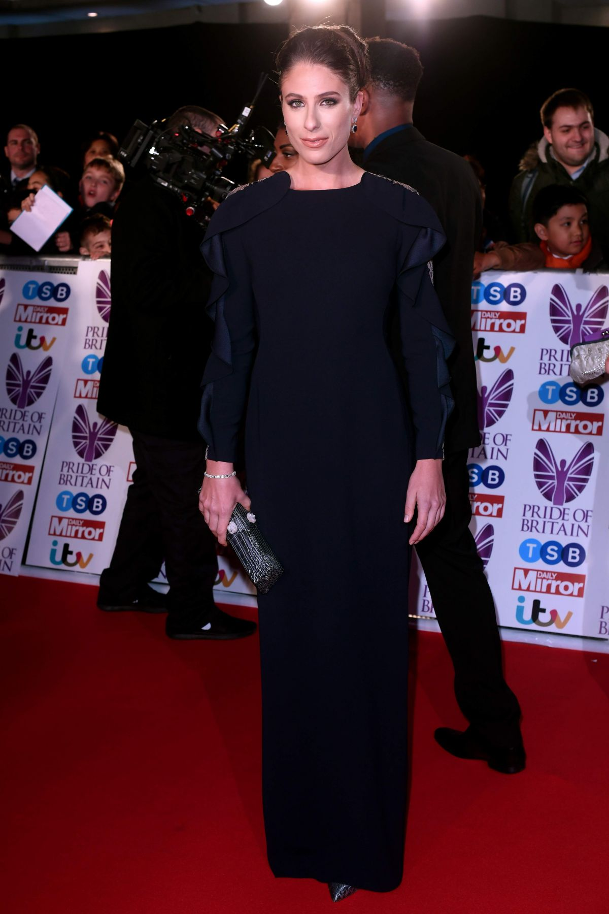 Johanna Konta At Pride of Britain Awards, Grosvenor House, London
