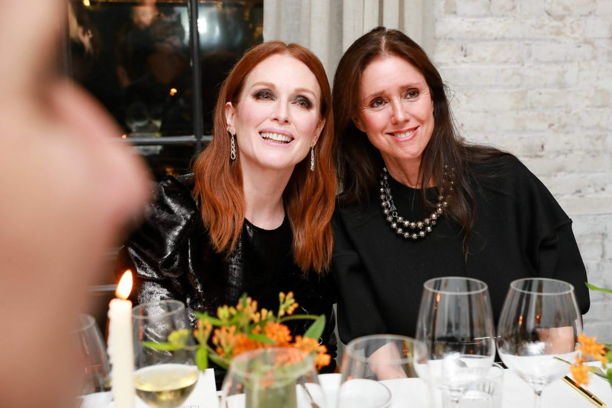 Julianne Moore At John Hardy & Vanity Fair Celebrate Legends, New York