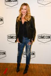 Julie Benz At Comic Con in Paris