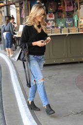 Julie Benz Shopping in Hollywood