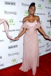 Justine Skye At The Imagine Ball, The Peppermint Club, Los Angeles