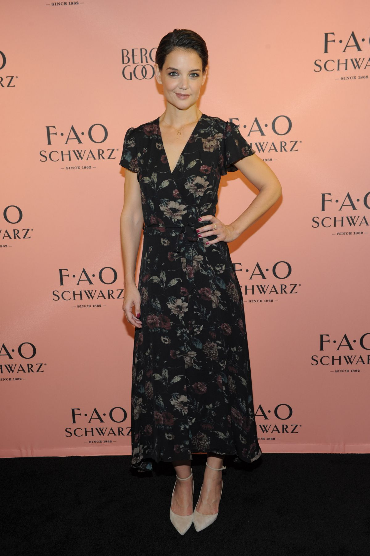 Katie Holmes Partners with FAO Schwarz to unveil new holiday collection in NYC