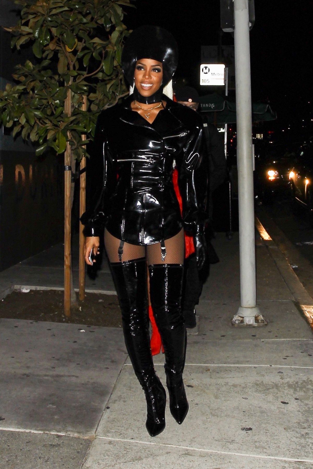 Kelly Rowland At her Costume Couture Bash, held at Poppy in West Hollywood