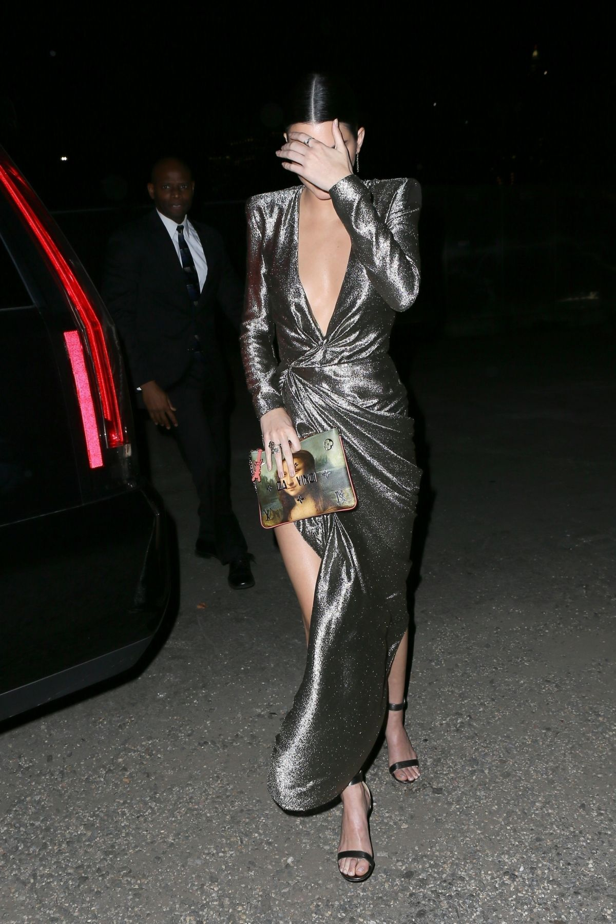 Kendall Jenner Arriving at an event in New York