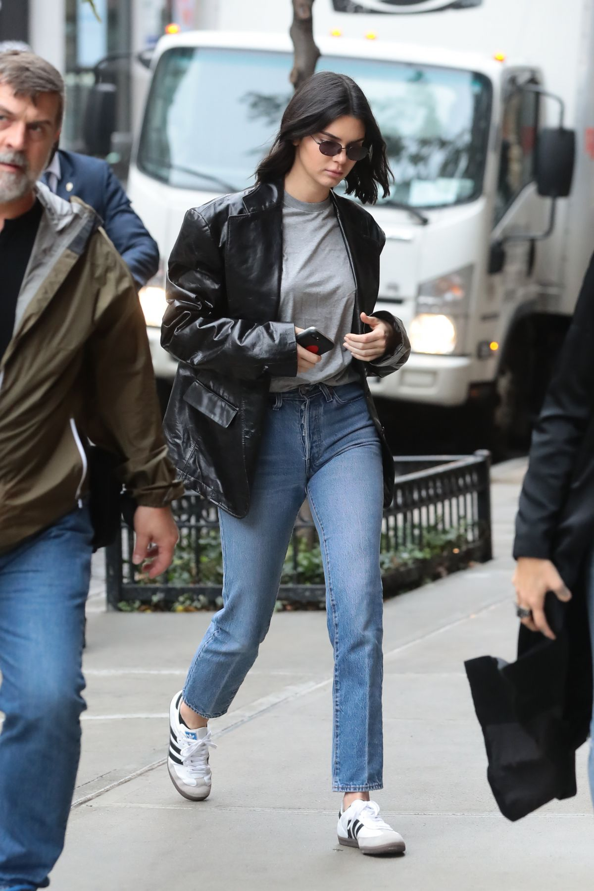 Kendall Jenner Heading to an Adidas photo shoot in NYC