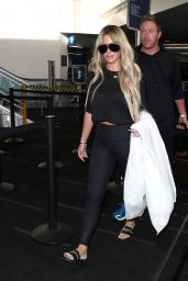 Kim Zolciak Is seen at LAX in Los Angeles, California