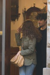 Laetitia Casta and Louis Garrel spotted in Florence