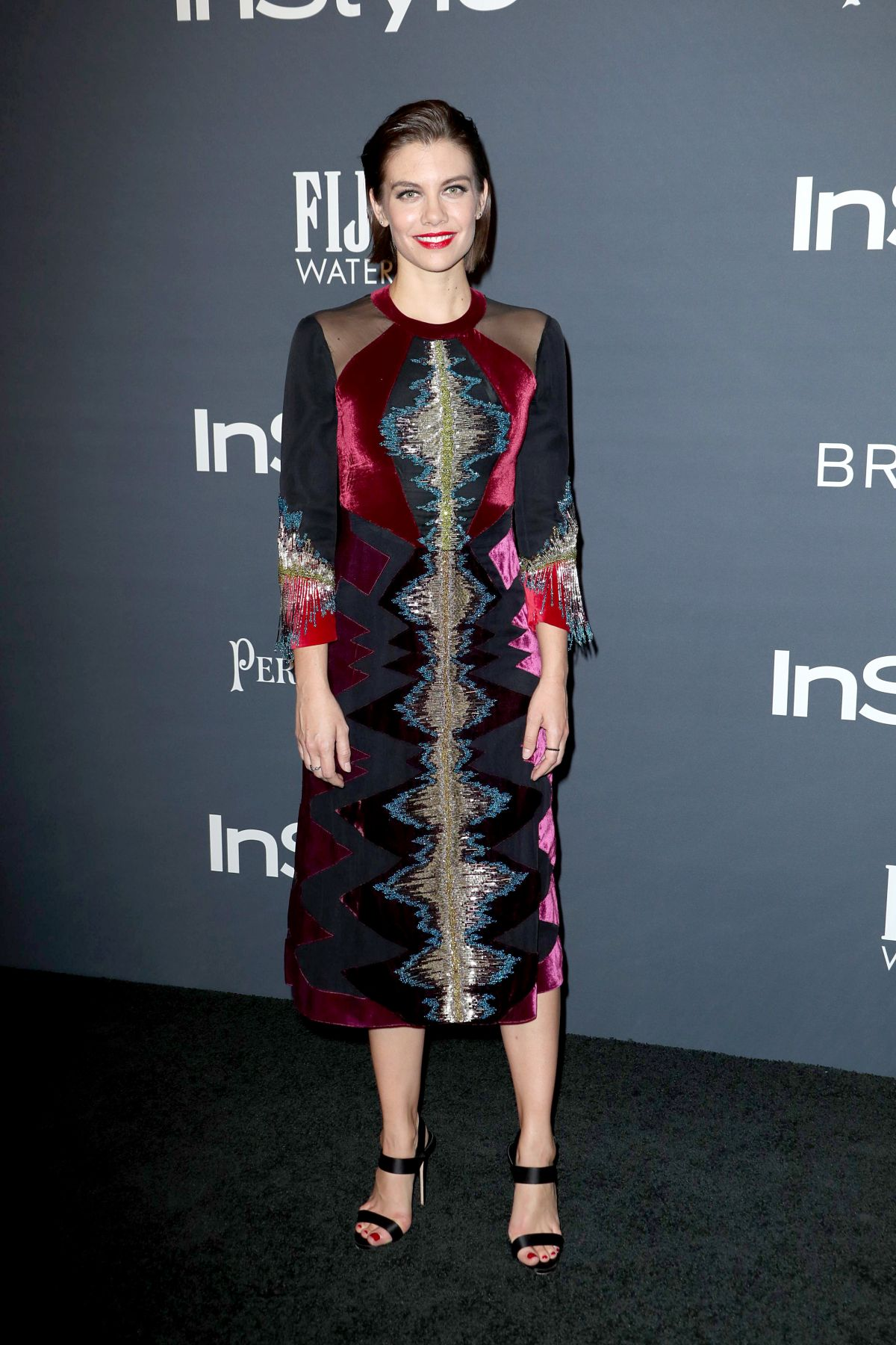 Lauren Cohan At 3rd Annual InStyle Awards in Los Angeles